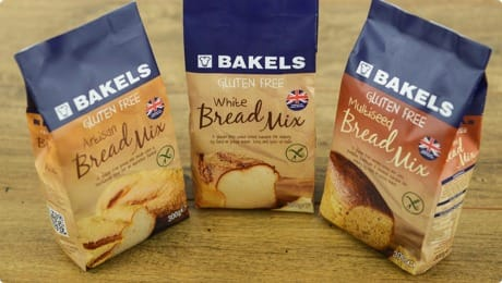 Bakels Home Baking Bread Mixes